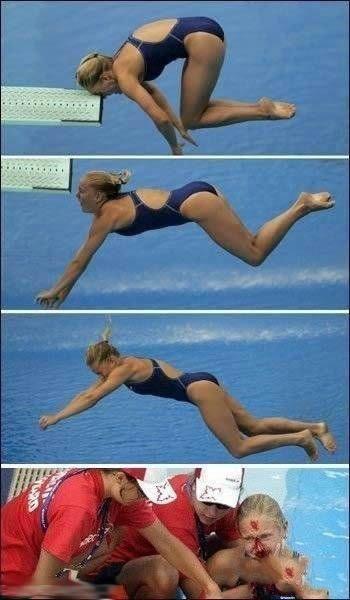奥运史上最悲剧的跳水