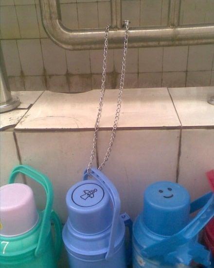 妈妈再也不用担心我的水壶被偷了~~
