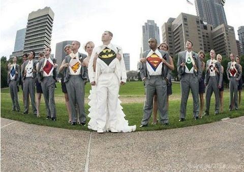 好霸气的婚礼