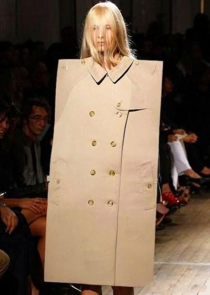 吾等凡人永远不懂时尚界。——卧槽!这个房门会走路!!