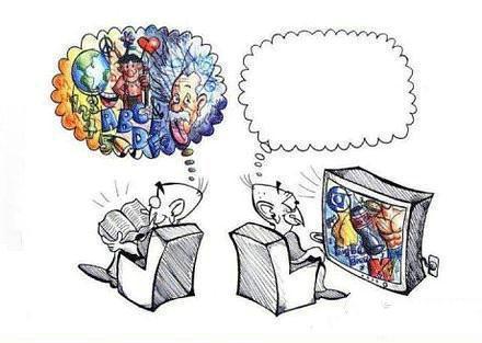 书和电视之间的差异~