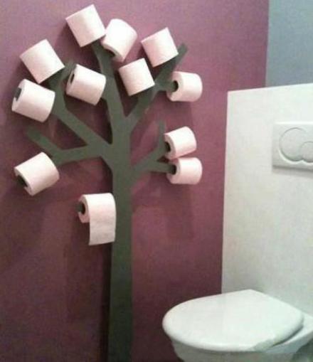 妈妈再也不用担心我上厕所没有纸巾了~