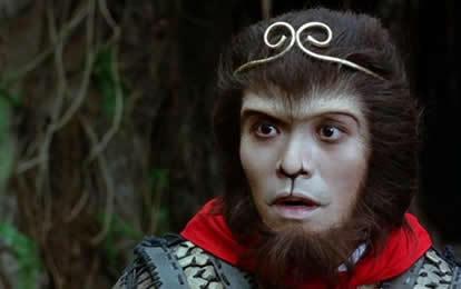 """杨戬到花果山挑战,悟空派出一只小猴子出战。猴子劈面发出十几道雷电,杨戬吃了一惊,边躲闪边叫道:""""报上名来。""""猴子说:""""雷猴。""""杨戬:""""雷……雷猴啊,通个名呗。""""(via正宗好鱼头 )"""