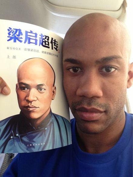 CBA北京首钢队外援马布里,找到了他的兄弟~这就是传说中的下辈子美利坚么!
