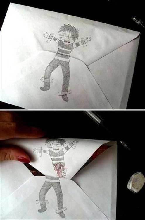 信封也可以这样玩