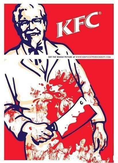 怪不得KFC图标没有下半部分!