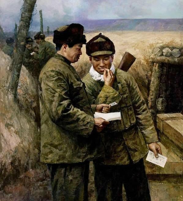 """一个士兵收到了一封家乡来信,当他拆开信封,从里面取出的却是一张白纸。 """"这是怎么回事呢?""""朋友问。 士兵说,""""离开家乡时我同未婚妻吵了一架,从那以后,我们一直谁都不跟谁讲话。"""