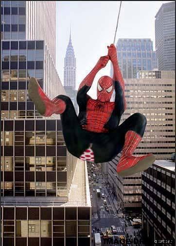 原来  蜘蛛侠最怕劈腿。。。
