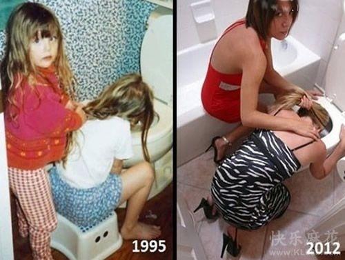 这么多年她一点都没变...