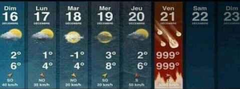 这几天的天气。神级别的预测啊。。。