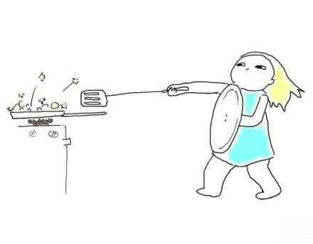 曾经的你,炒菜是不是有过这样的经历!