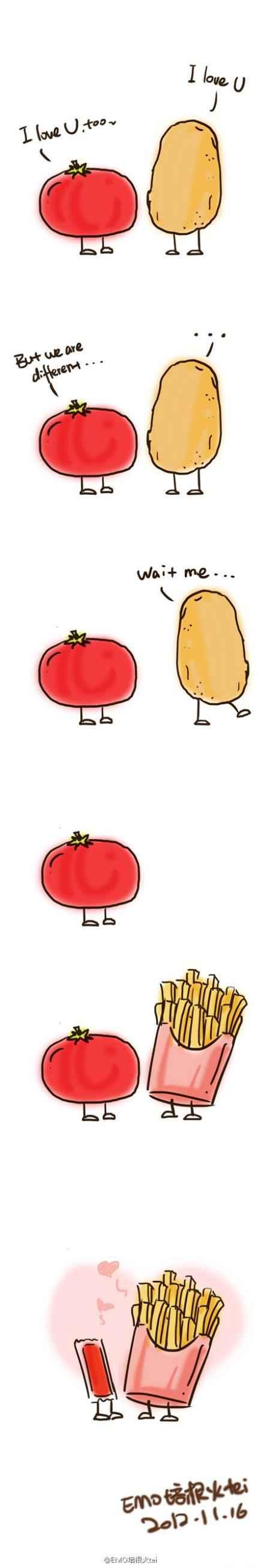 Just love~我愿做你的番茄酱