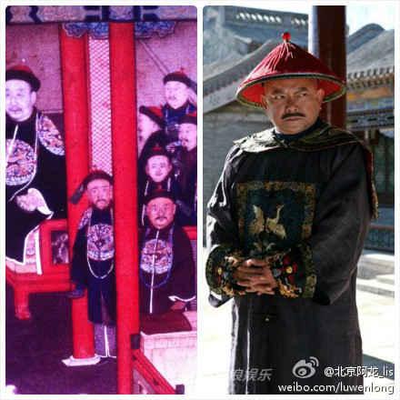 去故宫,看到宁寿宫的《万法归一图》,发现乾隆身边右下角之人,确定王刚老师确实是穿越来的。。。(via 北京阿龙_lis)