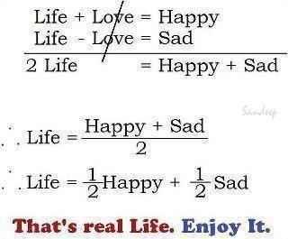 用数学公式解析幸福的真谛。