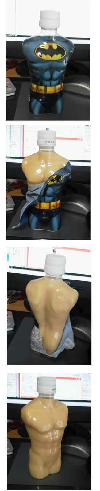 蝙蝠侠!!这瓶子实在是。。。好像少了点什么。。。喂。。。