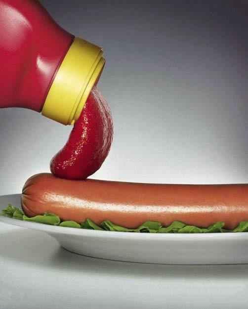 好有内涵的番茄酱广告!