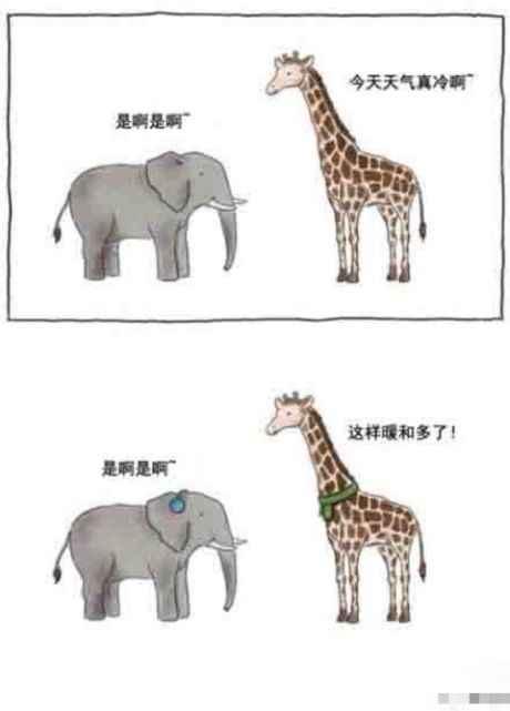 哈哈哈哈 就喜欢长颈鹿这种。。。莫名戳中笑点啊!!!!!!