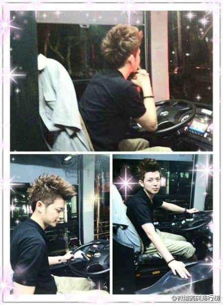 杭州7路公交车司机…这货是司机?亮瞎了我的狗眼了。我刨个坑直接把自己埋掉算了,还读什么书,我要去开公交车!我要开成帅哥,虎的一比啊。