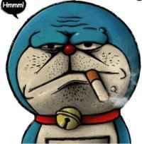 你们知道不。。。吸烟真的有害健康。看看我们同年的偶像就知道了。。。