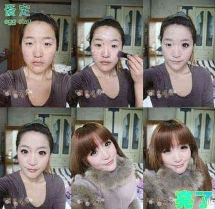 最可怕的不是你娶了个你不爱的人,而是你发现她还是个灰常会化妆的女人。
