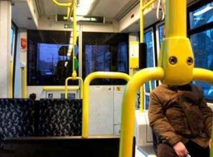 公车惊现外星人!~