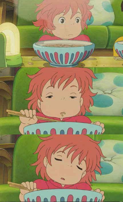 据说,真正的吃货,吃饱了就犯困...=_=