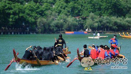 长沙的超蝙龙舟队