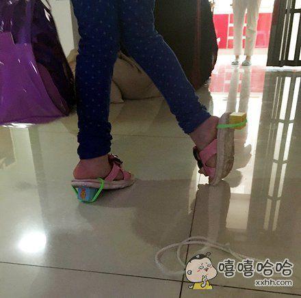 穿高跟鞋就要从娃娃抓起