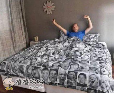 一张让你盖了就困的床单