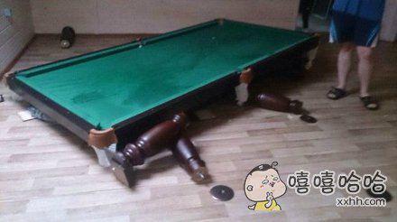 怪不得打桌球的没什么胖子。。