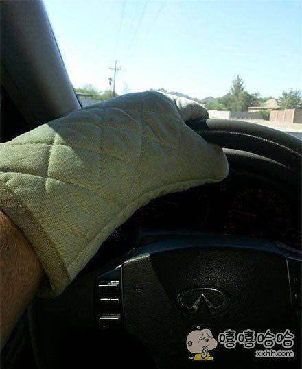 夏天在德克萨斯州开车