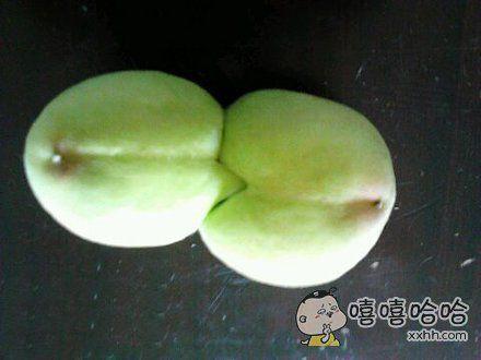 青梅竹马,两小无猜的桃子。