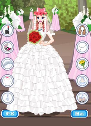 时尚婚纱换装
