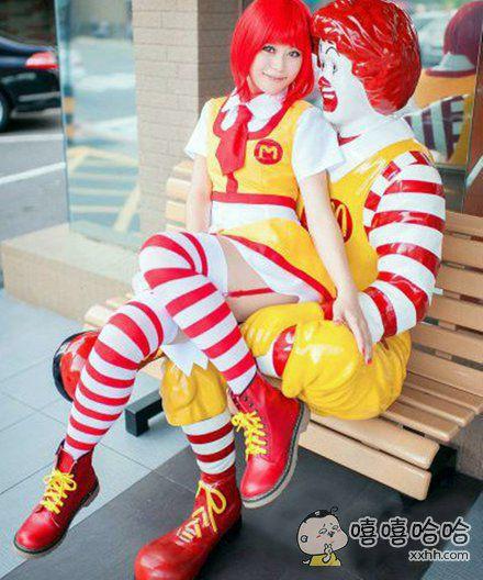 麦当劳叔叔都有女朋友了