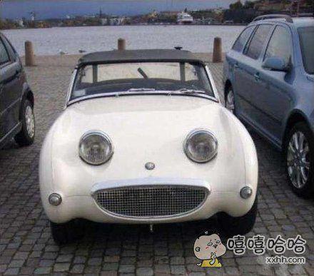 看到这辆呆萌的小车车,伦家就心情好了
