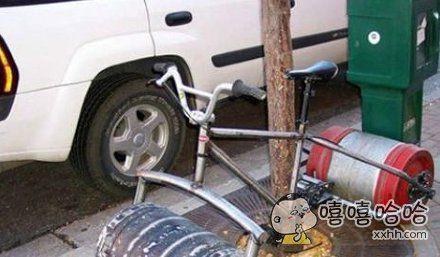 轮子很独特