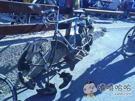 卧槽,这自行车全世界只有一辆,限量版