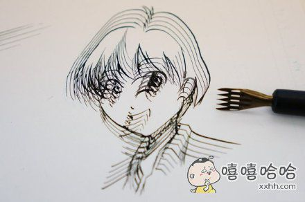 谁说用五线谱笔不能画漫画