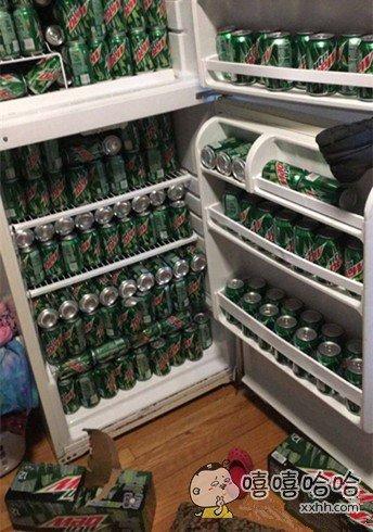 伦家的冰箱,有没有很霸气?