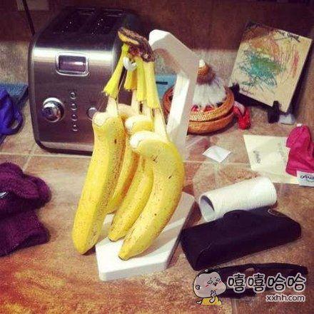 香蕉表示很疲惫
