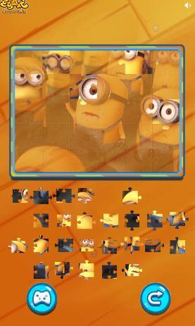 小黄人拼图
