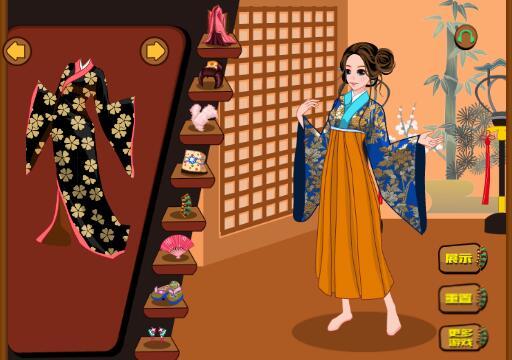 古代和服换装秀