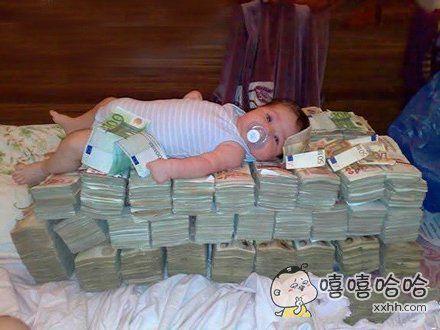 刚给儿子买了一个新床