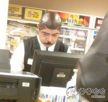 大叔你的是假发吗