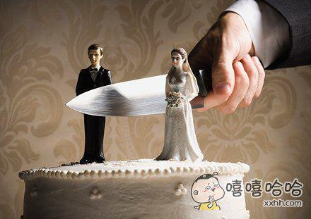 订做的婚礼蛋糕,好像哪里不对劲