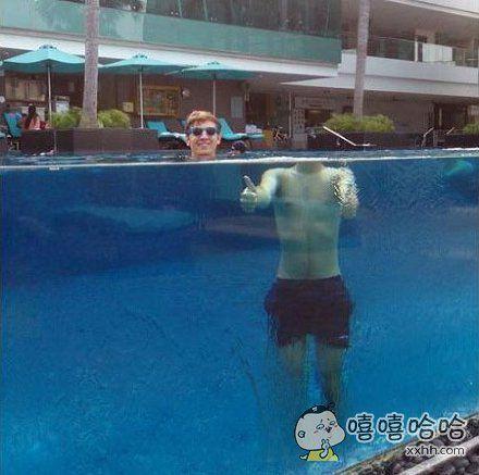 游泳池不错