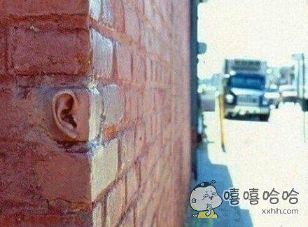 如果我告诉你隔墙有耳的话,你相信吗?