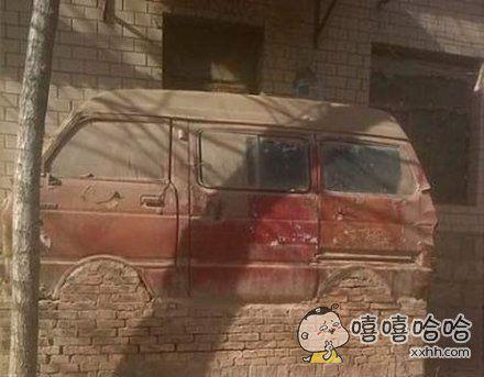 有房有车也可能是这个样子。