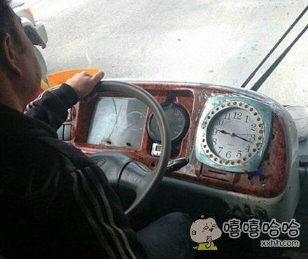 一个很有时间观念的老司机