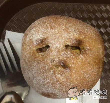 馅饼看起来好心塞的样子,怕被吃了吗?